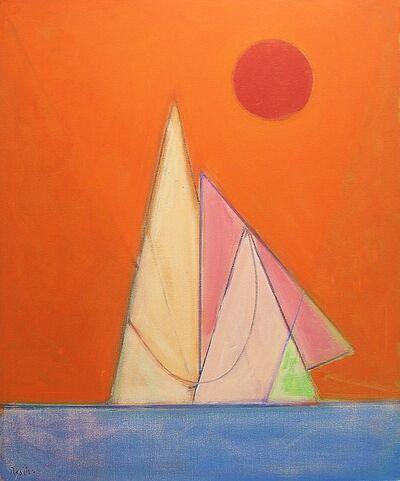 Paul Resika, 'Red Passage', 2009