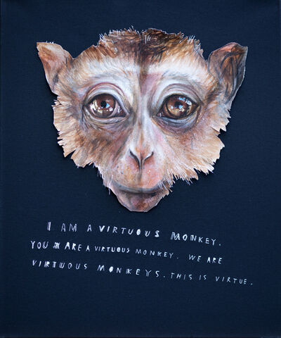 Herakut, 'I Am A Virtuous Monkey', 2013