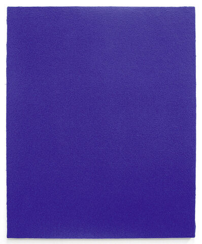 Yves Klein, 'Monochrome bleu sans titre (IKB 4)', 1961