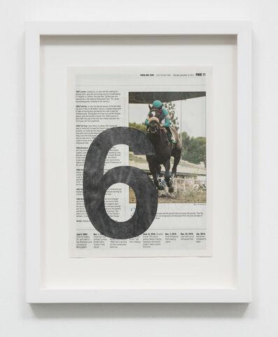 Sadie Barnette, 'Untitled (Racing Form 6)', 2015