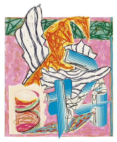 Frank Stella, 'And the Holy One, Blessed Be He, Came and Smote the Angel of Death, from Illustrations After El Lissitzsky's Had Gadya', 1984