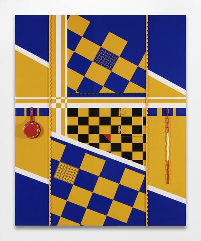 ORLAN, 'Problématique géométrique #10', 1974