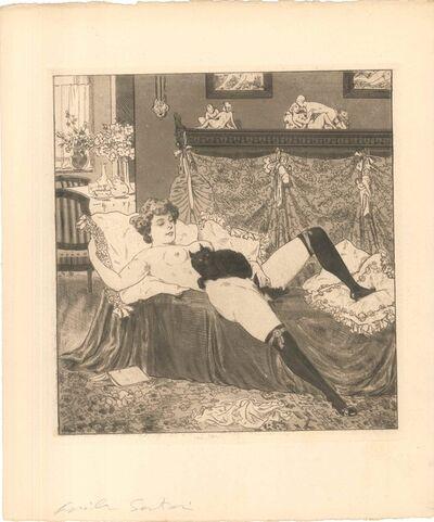 Emil Sartori, 'Erotic Scene V - Illustration', 1907