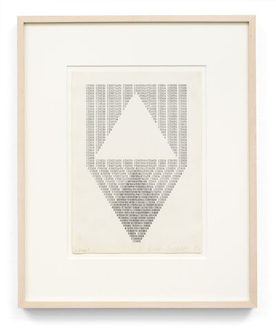 Ruth Wolf-Rehfeldt, 'Circle, Version 2', 1975