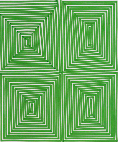 Bradley Harms, 'Green Coffer (Geo)', 2014