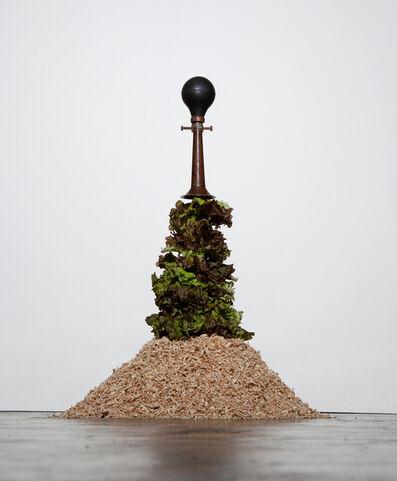 Yoo La Shin, 'Lettuce and Horn', 2012
