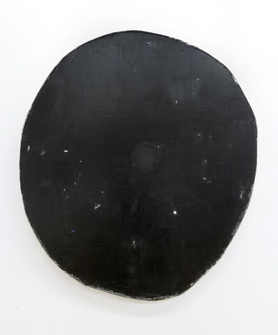 Otis Jones, 'Black with one black circle', 2018