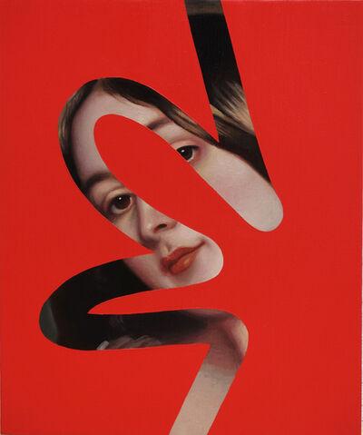 Lino Lago, 'Fake Abstract (Franz Winterhalter)', 2019