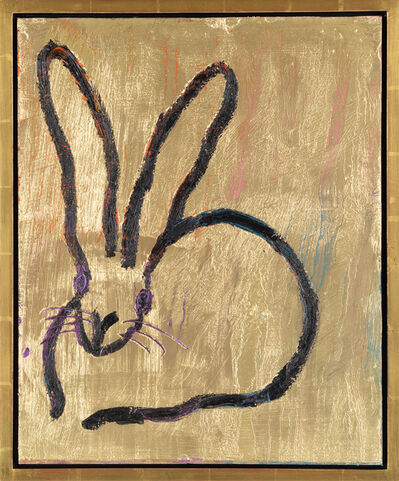 Hunt Slonem, 'Untitled (gold) Bunny', 2019