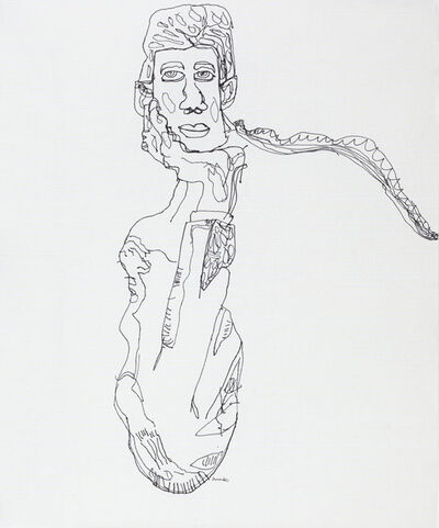 Steven Liu, 'After Egon Schiele', 2017