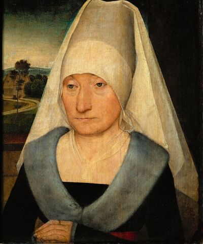 Hans Memling, 'Portrait of an elderly woman'
