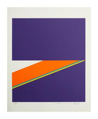 Hsiao Chin 蕭勤, 'Farbkomposition violet', 1973
