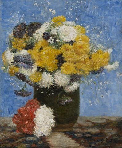 Albert Dubois-Pillet, 'Bouquet de fleurs', Unknown