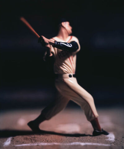 David Levinthal, 'Baseball 03_PC-BB_23 (T. Williams)', 2009