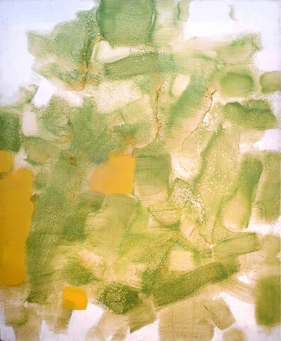 Carl Holty, 'Untitled (Green Earth, Ochre, White)', ca. 1968