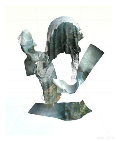 Tim Berresheim, 'Le Suaire Digital III (Mort)', 2019