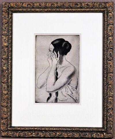 Dame Laura Knight DBE RA RWS, 'Gilding the Lily', 1926