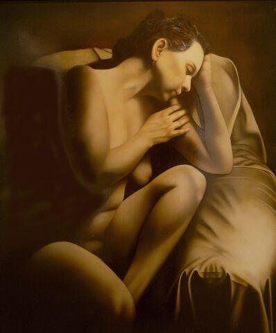Gloria DeArchangelis, 'Garnet Earring', ca. 2000