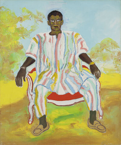 Beauford Delaney, 'Untitled (Man in African Dress)', ca. 1972