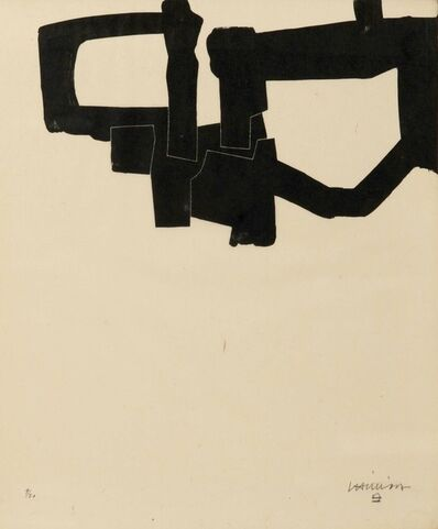 Eduardo Chillida, 'Meditation in Kastilien', 1968