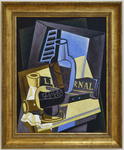 Dick Frizzell, 'In/Out - Juan Gris', 2020