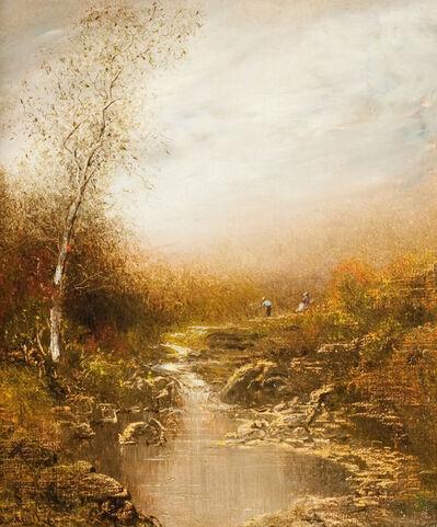 Ralph Albert Blakelock, 'Fall Landscape'