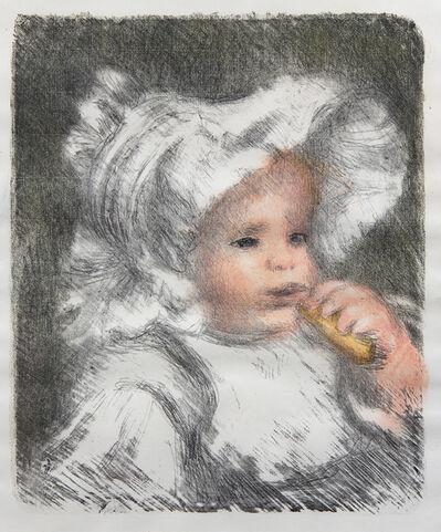 Pierre-Auguste Renoir, 'L'enfant au biscuit'