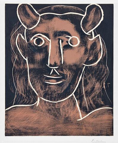 Pablo Picasso, 'Tête de faune (Faun's Head)', 1962