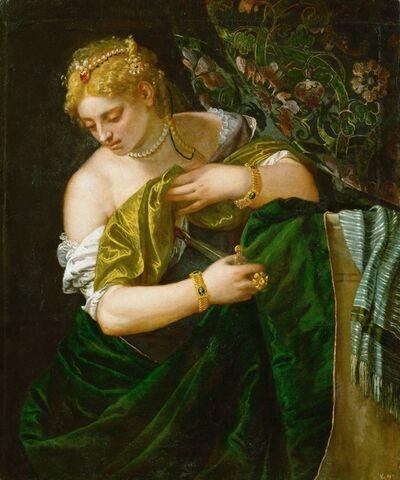 Paolo Veronese, 'Lucretia', 1580-1583