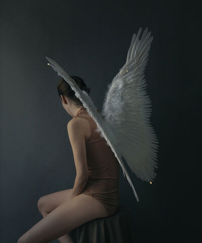 Andrea Torres Balaguer, 'Angel II (in white)', 2018