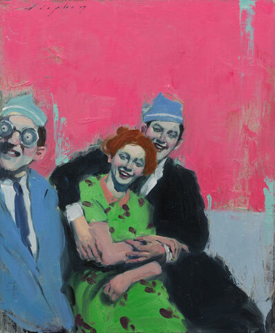 Malcolm T. Liepke, 'Party Hats', 2017
