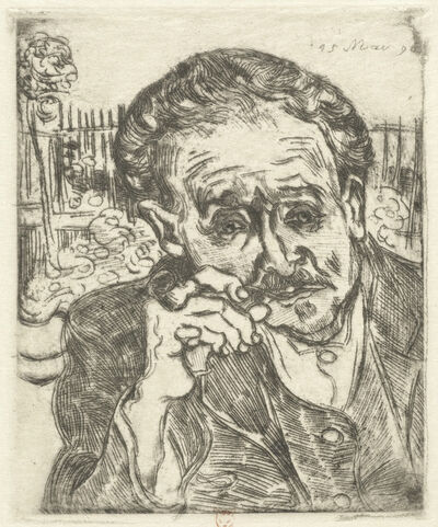 Vincent van Gogh, 'Dr. Gachet (Man with a Pipe)', 1890
