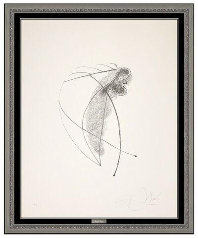 Joan Miró, 'Joan Miro Original Authentic Hand Signed Lithograph III Modern Abstract Artwork', 1973