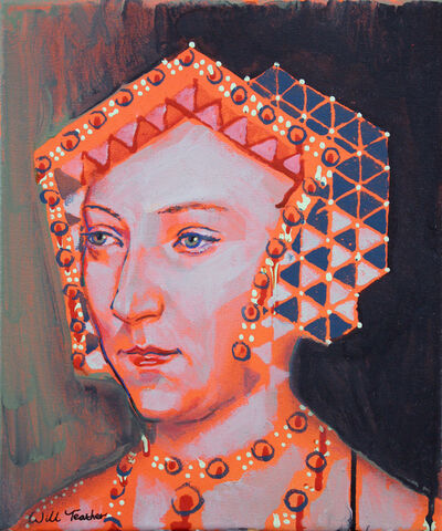 Will Teather, 'Jane Seymour (after Holbien) ', 2019