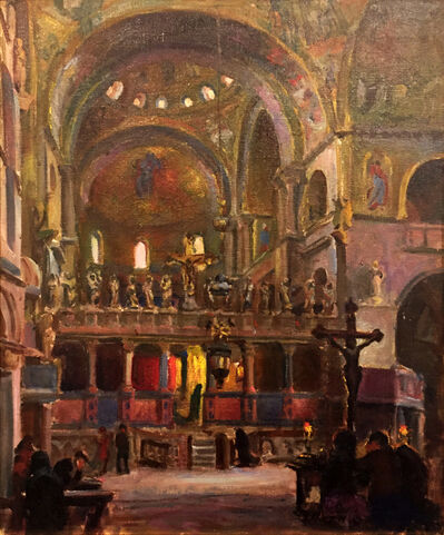 Irwin David Hoffman, '[Interior of St. Mark's Basilica, Venice]'
