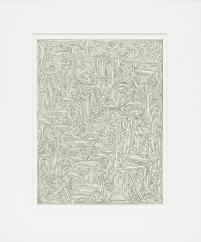 James Siena, 'Connected Hooks, 3H + HB', 2002