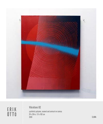 Erik Otto, 'Vibrations 02', 2018