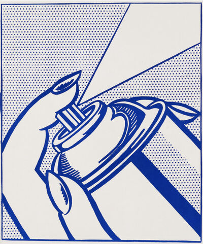 Roy Lichtenstein, 'Spray Can', 1963