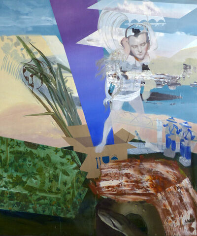 Patrícia Kaliczka, 'The Wormhole on the Bench of the River Euphrates'