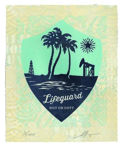 Shepard Fairey, 'Lifeguard Not on Duty', 2016