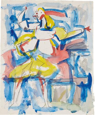 Jack Tworkov, 'Study for Nausica', 1952