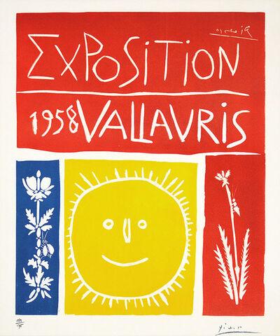Pablo Picasso, 'Vallauris Exhibition', 1958