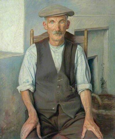 William Rothenstein, 'The Old Gardener', ca. 1930