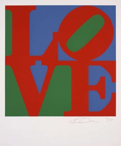 Robert Indiana, 'Love (Classic - 1997)', 1997