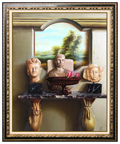 Ferjo, 'Heads on the Mantel', 21st Century