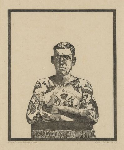 Peter Blake, 'Tattooed Man (from Side-show)', 1978