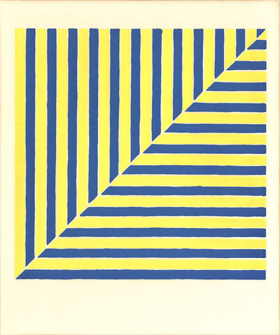 Frank Stella, 'Untitled (Rabat) (From Ten Works by Ten Painters)', 1964