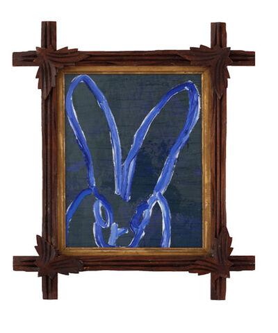 Hunt Slonem, 'Cobalt Blue Bunny', 2019