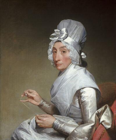 Gilbert Stuart, 'Catherine Brass Yates (Mrs. Richard Yates)', 1793/1794
