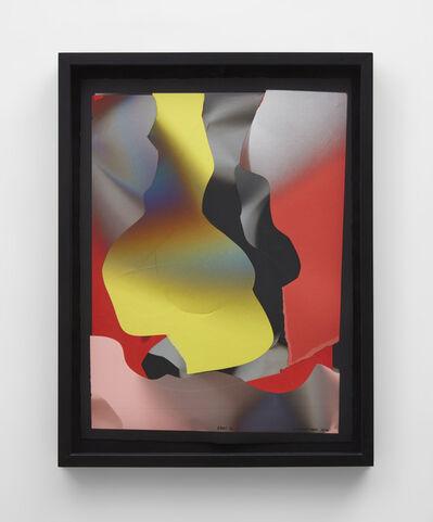 Larry Bell, 'Vapor drawing (Oppenheim) ', 2012